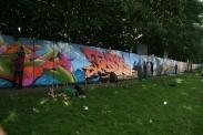 Artists Create Graffiti Zone Photo by Robin Elizabeth Herr
