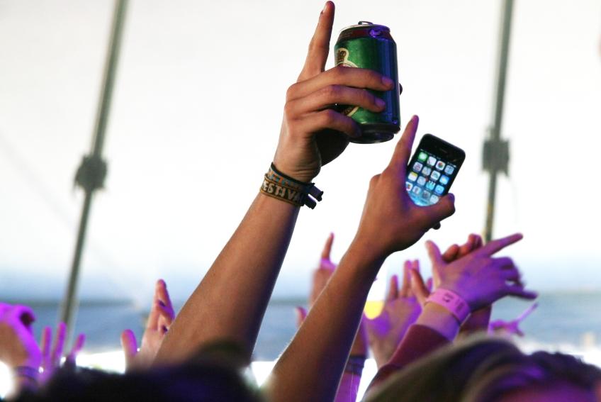billeder på Roskilde Musik Festival